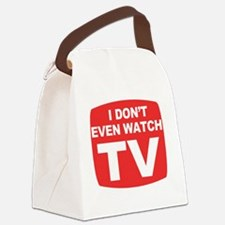 idontevenwatch Canvas Lunch Bag