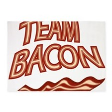 Team Bacon3 5'x7'Area Rug