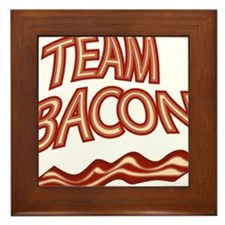 Team Bacon3 Framed Tile