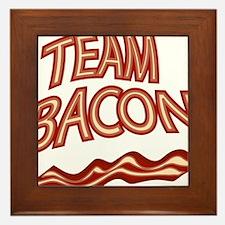 Team Bacon3 Framed Tile