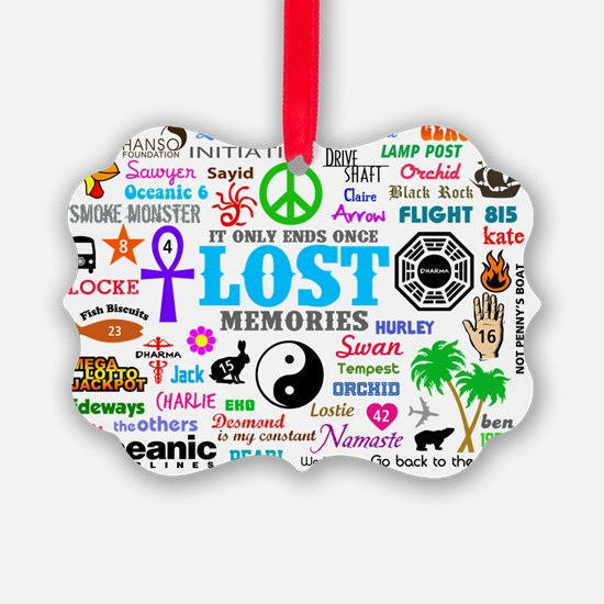LOST SmPoster Ornament