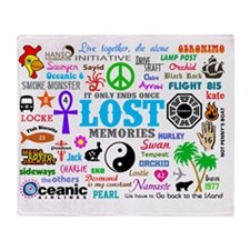 LOST SmPoster Throw Blanket