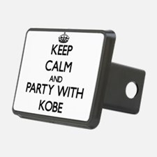 Keep Calm and Party with Kobe Hitch Cover