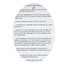 Fibromyalgia Oval Ornament