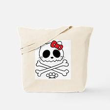 Hello Skully Tote Bag