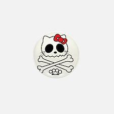 Hello Skully Mini Button