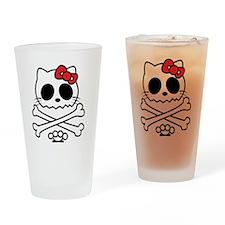 Hello Skully Drinking Glass