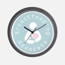 Breastfeeding Advocate - 4 Wall Clock
