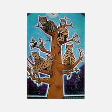 bengaltree copy Rectangle Magnet