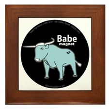 Babe_magnet ( fixed ) Framed Tile