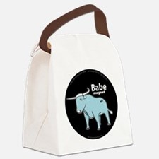 Babe_magnet ( fixed ) Canvas Lunch Bag