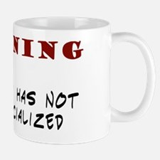 warning 1 copy Mug