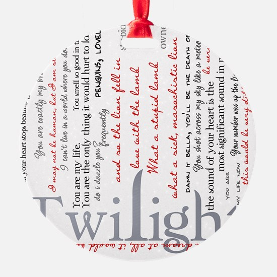 twilight quotes-bLANKET Ornament