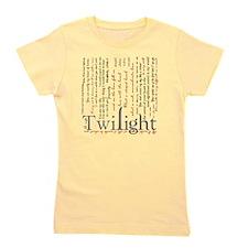 twilight quotes-bLANKET Girl's Tee