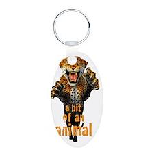 Leopard a bit of an animal Keychains