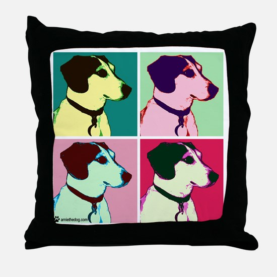 arnie monroe copy Throw Pillow