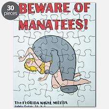 Beware of Manatees Puzzle