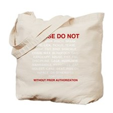 Please-do-not Tote Bag