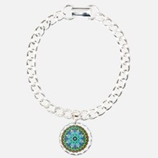 Mandala -Color Charm Bracelet, One Charm