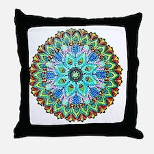 Mandala -Color Throw Pillow