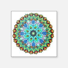 "Mandala -Color Square Sticker 3"" x 3"""