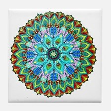 Mandala -Color Tile Coaster