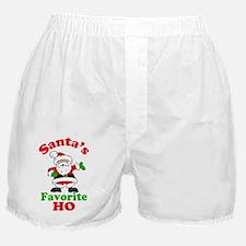 Santas Ho Btn Boxer Shorts