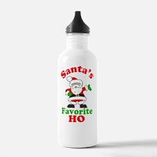 Santas Ho Btn Water Bottle