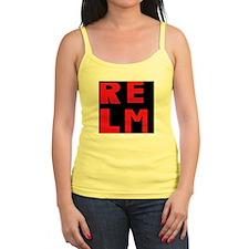 relm block letters Jr.Spaghetti Strap