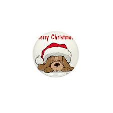merry_christmas_14 Mini Button