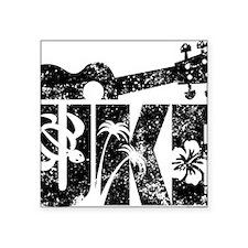 """Uke Ukulele Square Sticker 3"""" x 3"""""""