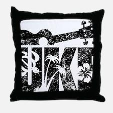Uke Ukulele Throw Pillow
