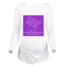 ADSTShirt1 Long Sleeve Maternity T-Shirt
