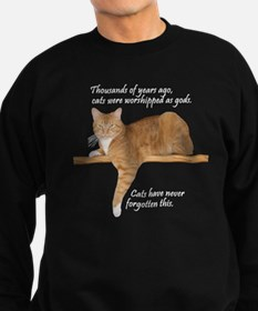 Orange Cat Ginger Kitty Sweatshirt