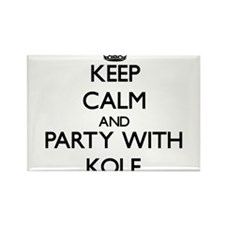 Keep Calm and Party with Kole Magnets