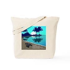 BLUE PALMS CALENDAR  copy Tote Bag