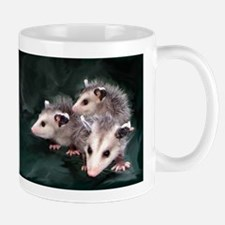 opossum Small Mugs