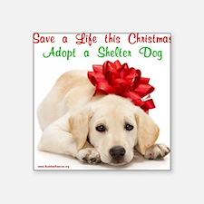 "merry_christmas_3-1 Square Sticker 3"" x 3"""