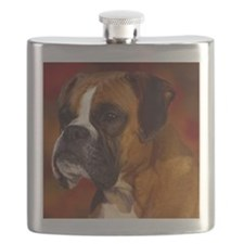 Boxer red note Flask