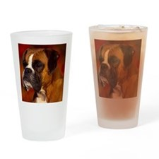 Boxer red note Drinking Glass
