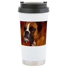 Boxer red note Travel Mug
