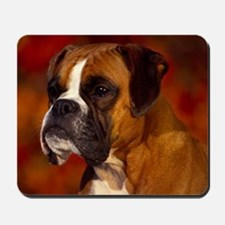 Boxer red note Mousepad
