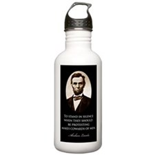 Lincoln--to-stand-in-s Water Bottle