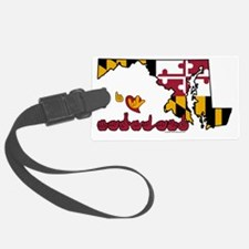 MDstateFlagILY Luggage Tag