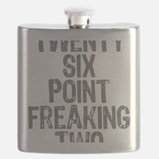 Twenty six point freaking two Flask