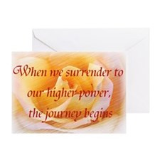 Surrender Greeting Card