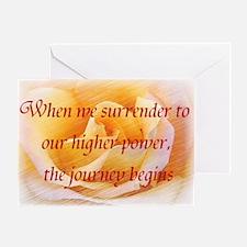 Surrender Greeting Card