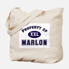 Property of marlon Tote Bag