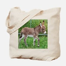 Miniature Donkey Foal Tote Bag