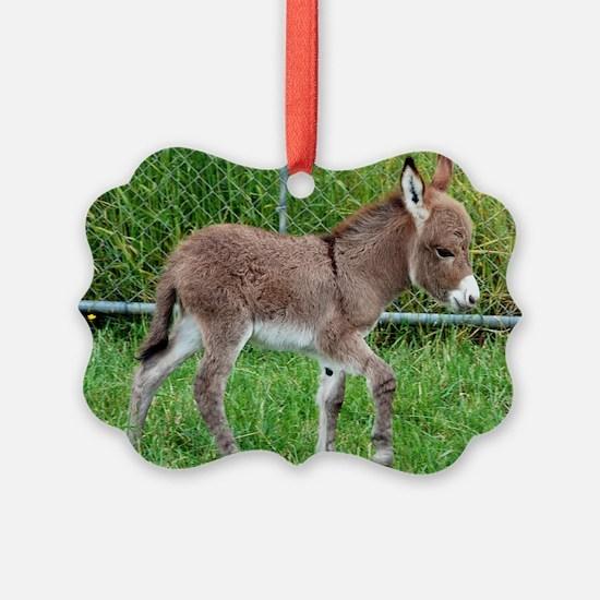 Miniature Donkey Foal Ornament